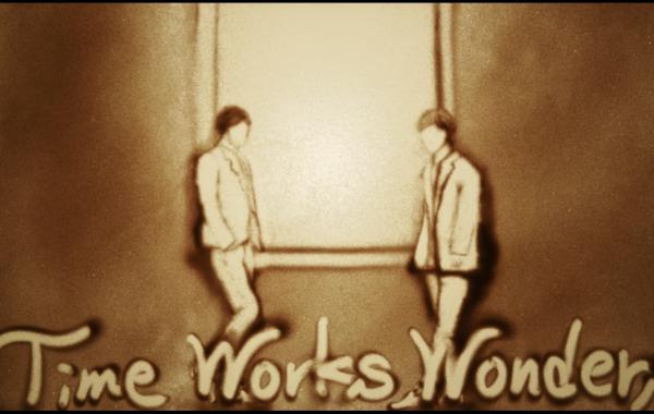 東方神起「Time Works Wonders」サンドアートVer.